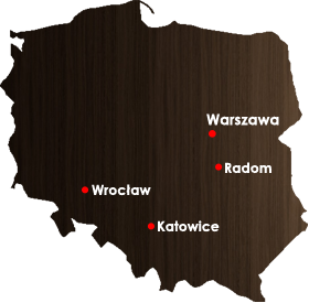 Drzwi na mapie polski