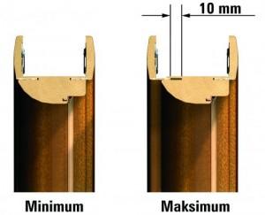Ościeżnica regulowana Porta PRESTIGE